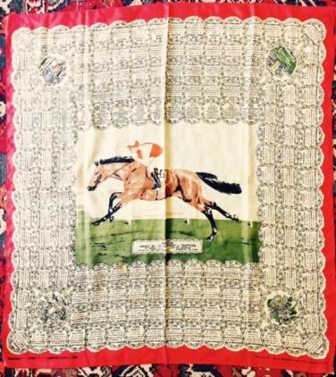 Il foulard del Derby di epsom del 1966 € 100JPG