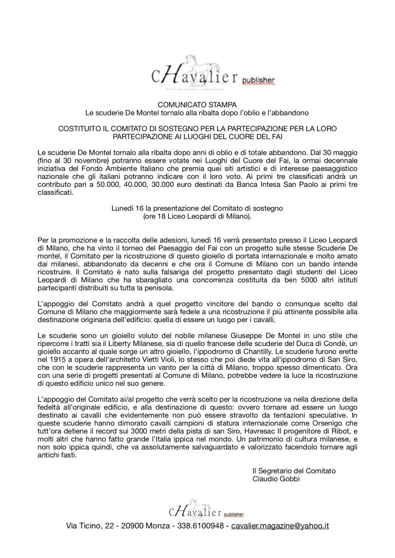 COMUNICATO STAMPA Scuderie De Montel- il Comitato per la ricostruzione.jpg