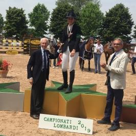 1Orlandi premia la vincitrice della Finale Young Rider Maria Alessandra Guidi