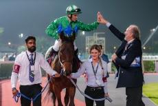Dopo la corsa con Giorgio Barsotti manager el cavallo