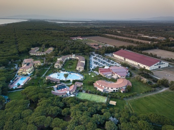 Horse Country Resort, Congress & Spa from the sky
